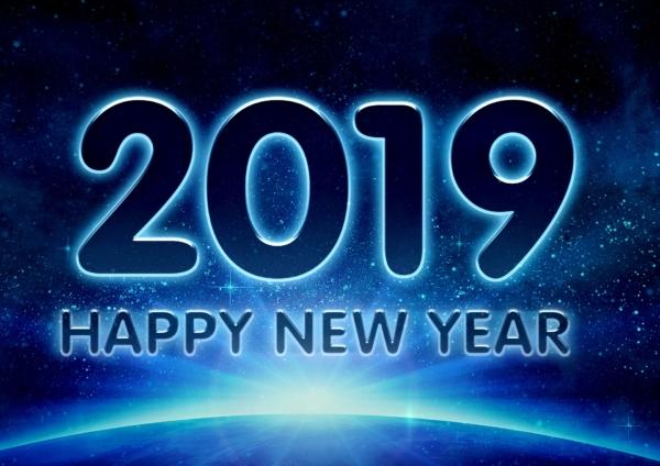 Guten Rutsch und frohes Jahr 2019